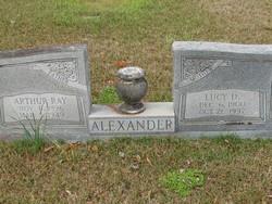 Lucy <I>Dunaway</I> Alexander