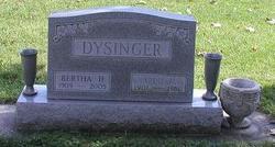 Bertha H. <I>Fisher</I> Dysinger