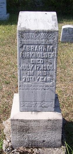 Abraham Burkholder