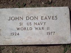 John Don Eaves