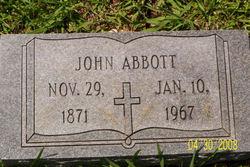 """John """"Jack"""" Abbott"""