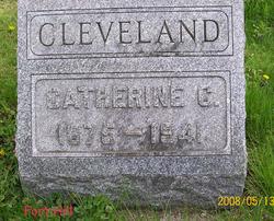 """Catherine C. """"Kate"""" Cleveland"""