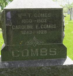 "Caroline E. ""Carrie"" <I>Seeber</I> Combs"