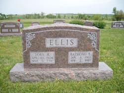 Dora Belle <I>Evans</I> Ellis
