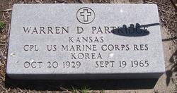 Warren D Partridge