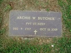 PVT Archie Butcher
