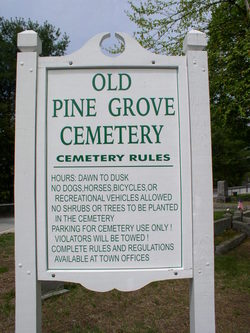 Old Pine Grove Cemetery