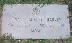 Lena Isabella <I>Ackley</I> Harvey