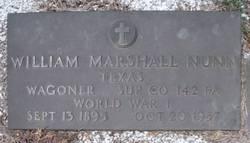 William Marshall Nunn