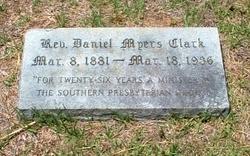 Rev Daniel Myers Clark