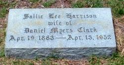 Sallie Lee <I>Harrison</I> Clark