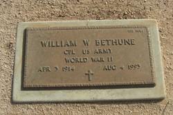 William W Bethune