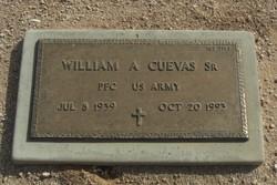 William A Cuevas, Sr