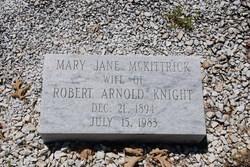 Mary Jane <I>McKittrick</I> Knight