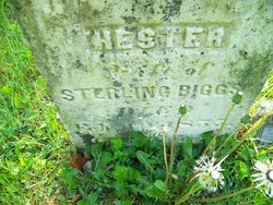"Esther ""Hester"" <I>Montgomery</I> Biggs"