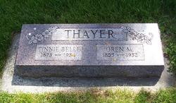 Tinnie Belle <I>Van Matre</I> Thayer