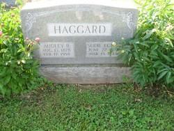 Audley Bruce Haggard, Sr