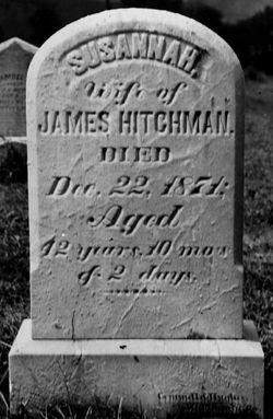 Susannah <I>Sandles</I> Hitchman