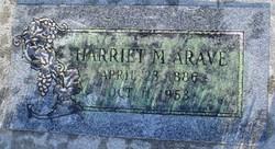 Harriet Ann <I>McCloy</I> Arave