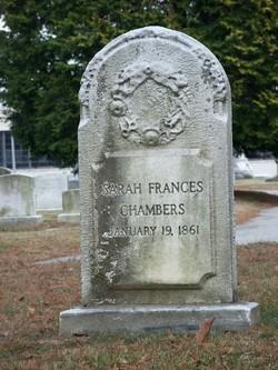 Sarah Frances Chambers