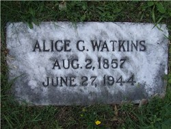 Alice Garland <I>James</I> Watkins