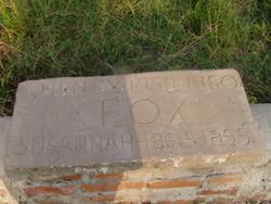Susannah <I>Doughty</I> Fox