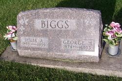 Julia A <I>Exline</I> Biggs