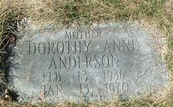 Dorothy Anne Anderson