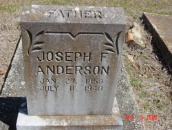 Joseph F Anderson