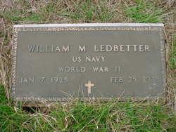 William M Ledbetter