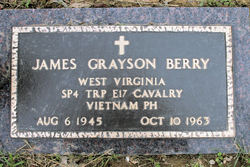 Spec James Grayson Berry