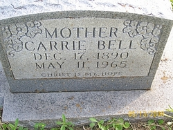 Carrie Bell <I>Knight</I> Brown
