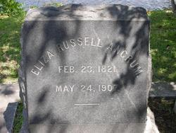 Eliza <I>Russell</I> Ancrum