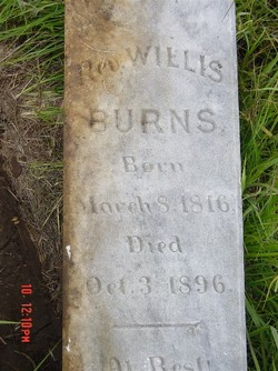 Rev Willis Burns, Sr