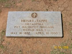Pvt Henry Tappe