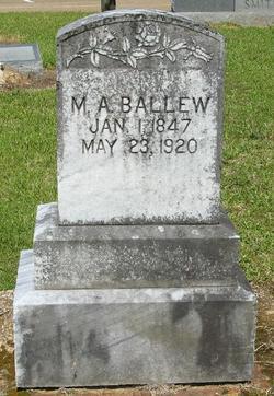 Martha Ann <I>Parkman</I> Ballew