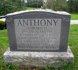 Gertrude M Anthony