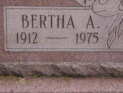 Bertha A. Kustra