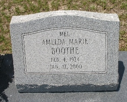 "Amelda Marie ""Mel"" Boothe"