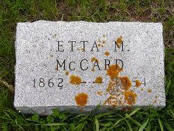 Etta M. <I>Root</I> McCard