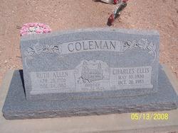 Ruth <I>Allen</I> Coleman