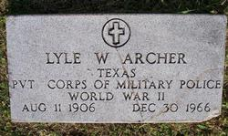 Lyle Winfred Archer