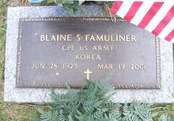 Blaine S Famuliner