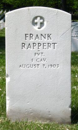 Frank Rappert