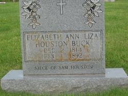"Elizabeth Ann ""Eliza"" <I>Houston</I> Buck"