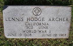 Lennis Hodge Archer