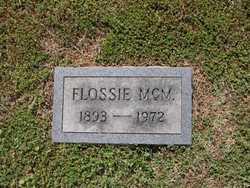 Flossie <I>McMasters</I> Kivett
