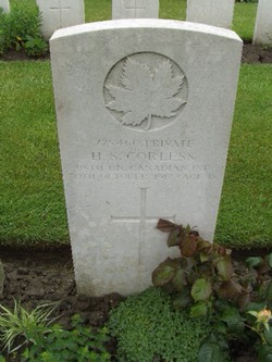 Private Hubert Snell Corless