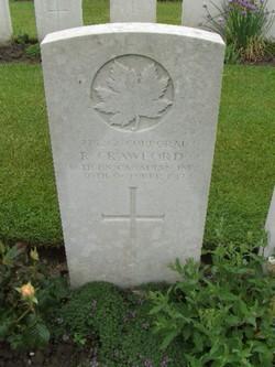 Corporal R Crawford