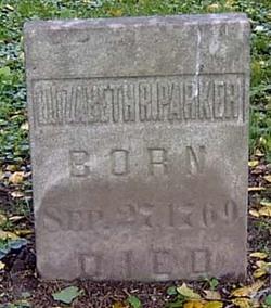 Elizabeth Rittenhouse <I>Porter</I> Parker